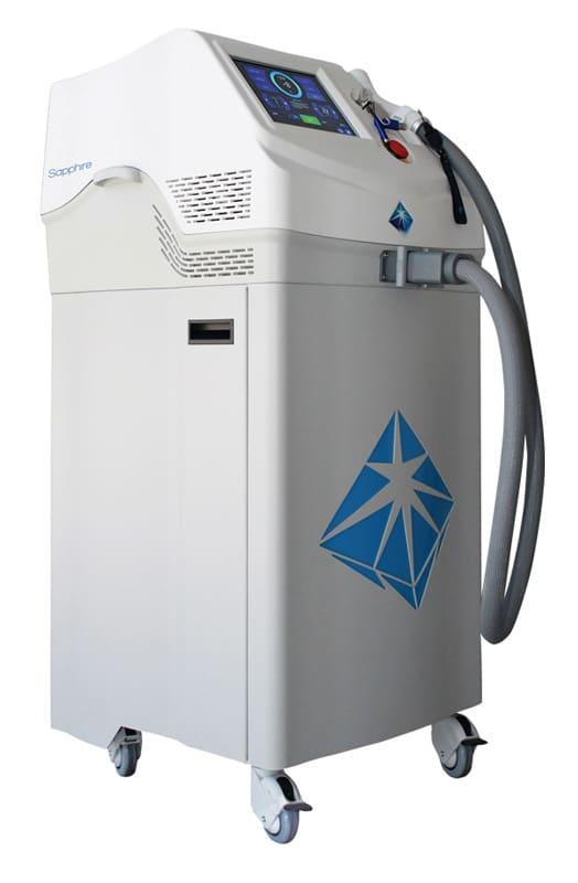 Sapphire SHR Laser Diodenlaser LS1200 Seitenansicht