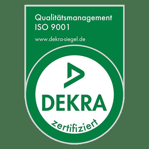 WELLCOTEC Germany - DEKRA Zertifizierung - ISO 9001